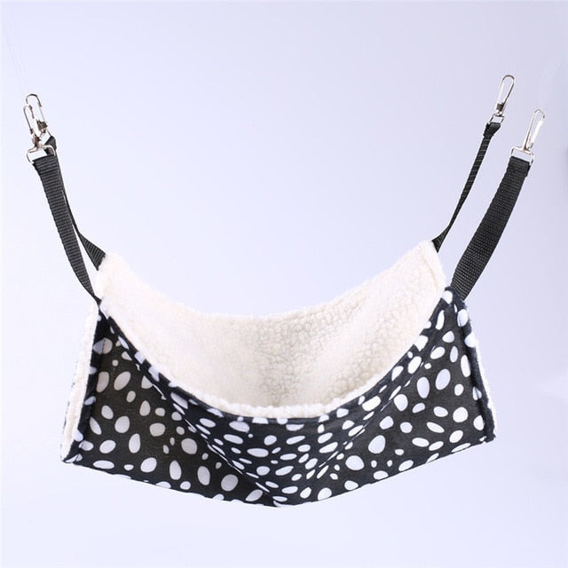 Winter Hammock Pet Kitten Cage Bed