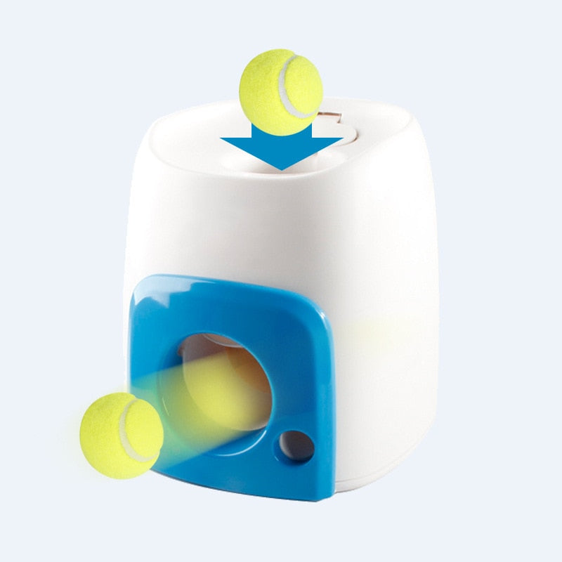 Automatic Interactive Ball Launcher Machine For Pet