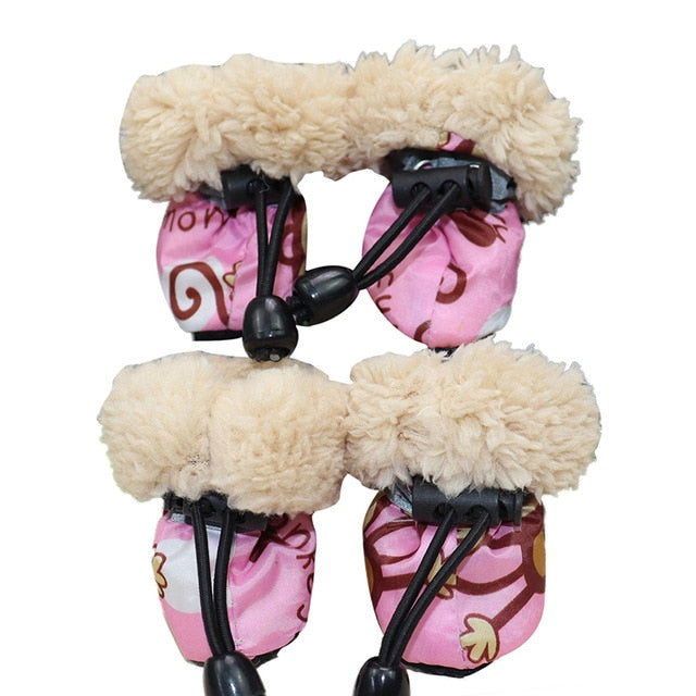 Insulated Winter Shoes For Dogs - PetCareSunday