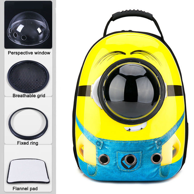 Breathable Astronaut Pet Carrier Backpack - PetCareSunday