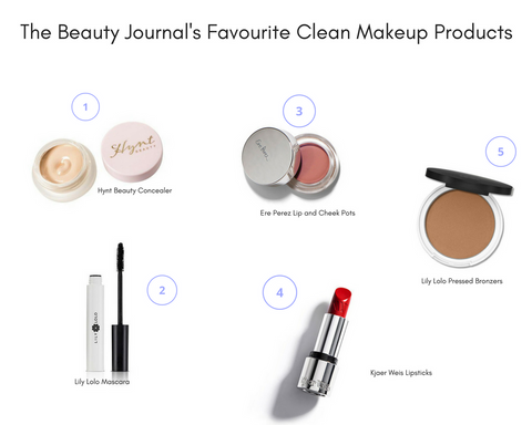 The Beauty Journal Favourite Clean Makeup Products