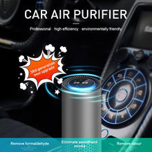 Load image into Gallery viewer, GIAHOL Air Purifier with HEPA Filter Fresh Air Anion Car Air Purifier Infrared Sensor Air Cleaner best for Car Home Office Gray