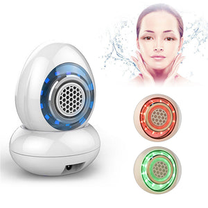Radio Frequency Facial Care Machine Face Lifting Wrinkle Removal Water Spray LED Photon Rejuvenation Beauty Massage Device P36