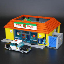 Load image into Gallery viewer, LEPIN 16004 2232Pcs the Simpsons KWIK-E-MART Action Model Building Block Bricks