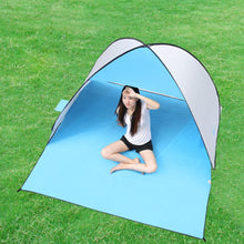 Load image into Gallery viewer, KEUMER Automatic Camping Tent Ship From RU Beach  2 Persons Tent Instant Pop Up Open Anti UV Awning Tents Outdoor Sunshelter
