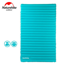 Load image into Gallery viewer, Naturehike Outdoor Camping Mat TPU Inflatable Mattress 2-4 Person Ultralight Portable Sleeping Pad Floating Air Bed