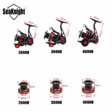 Load image into Gallery viewer, SeaKnight AXE Saltwater Spinning Fishing Reel 6.2:1 11BB 2000H 3000H 4000H Full Metal Body Anti-Corrosion Sea Carp Fishing Wheel