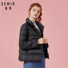 Load image into Gallery viewer, SEMIR Plus Size 2XL 3XL Thicken Winter Jacket Women 2019 Ultra Light Down Coat Padded Jackets Black Casual Clothes For Woman