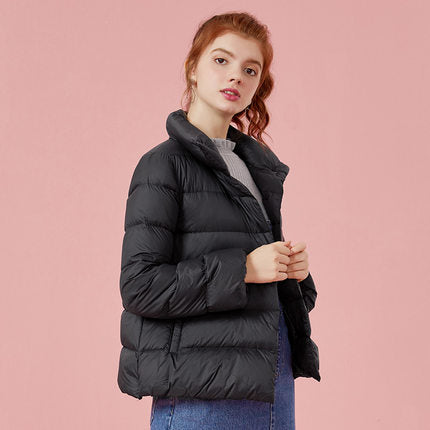 SEMIR Plus Size 2XL 3XL Thicken Winter Jacket Women 2019 Ultra Light Down Coat Padded Jackets Black Casual Clothes For Woman
