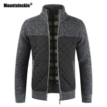 Load image into Gallery viewer, Mountainskin Men's Sweaters Autumn Winter Warm Knitted Sweater Jackets Cardigan Coats Male Clothing Casual Knitwear SA833