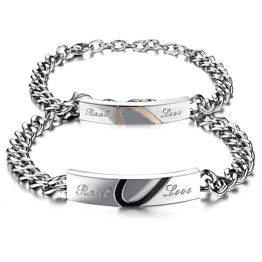 bracelet couple real love