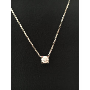collier diamant solitaire cartier