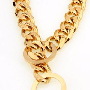 collier etrangleur couleur or