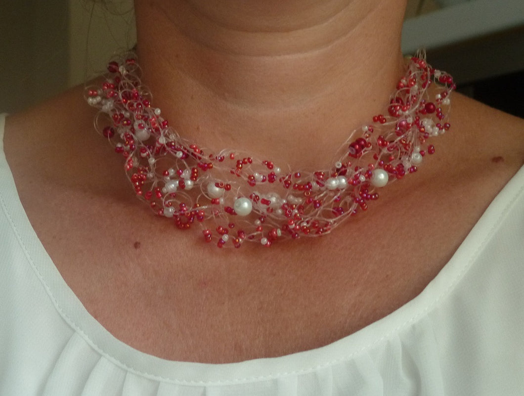 collier perle rocaille simple