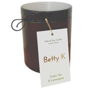 Betty K's Relax Range | Natural Soy Candles