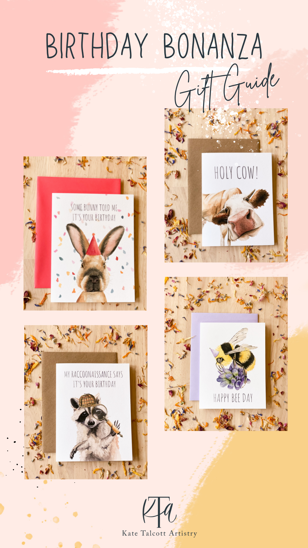 Birthday Card Gift Guide