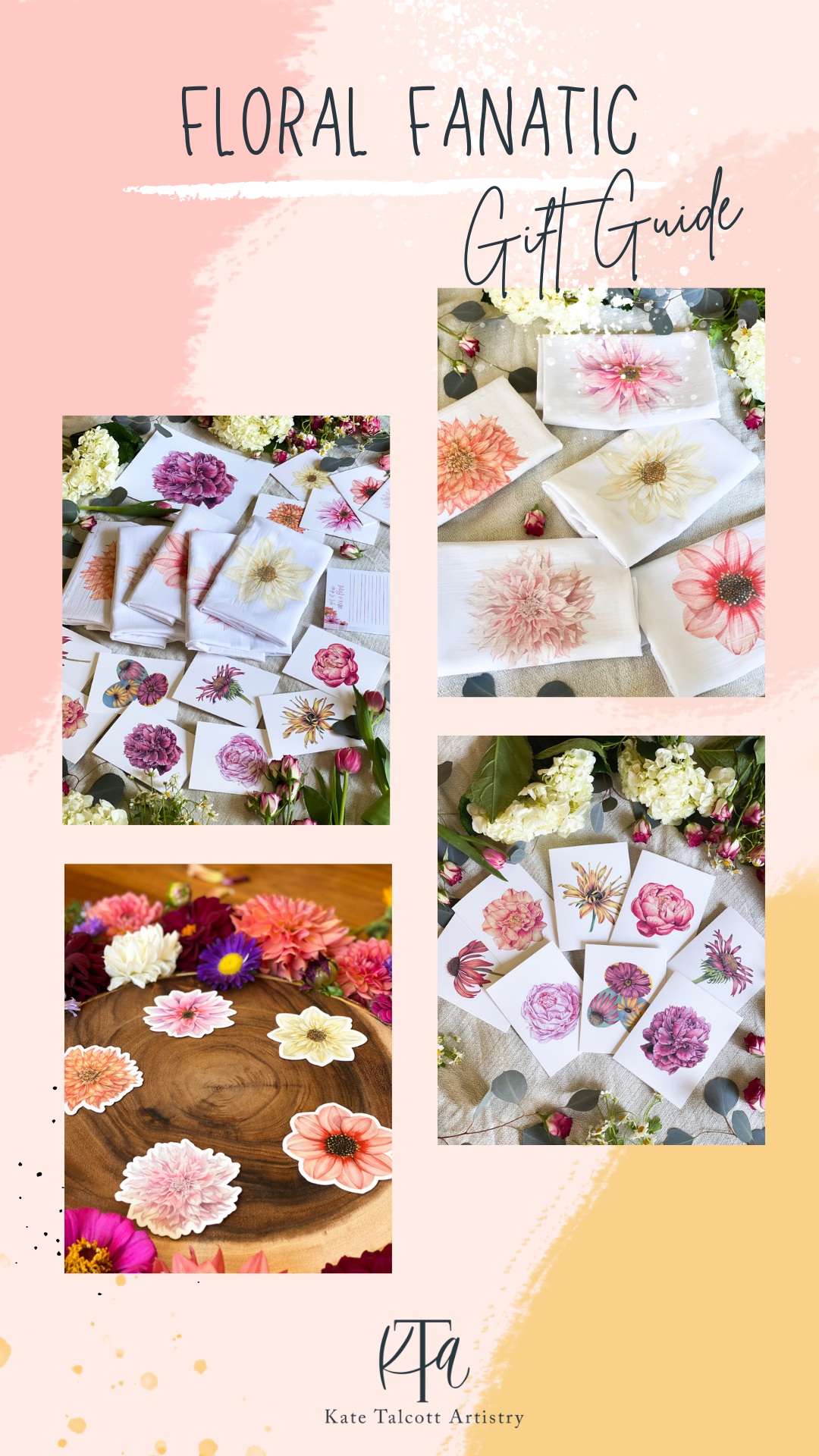 Gift Guide for your friend who loves flowers