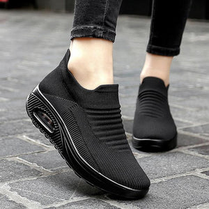 women's elastic lightweight breathable sneakers