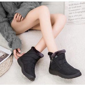 Winter Fur Lining Boots for Women