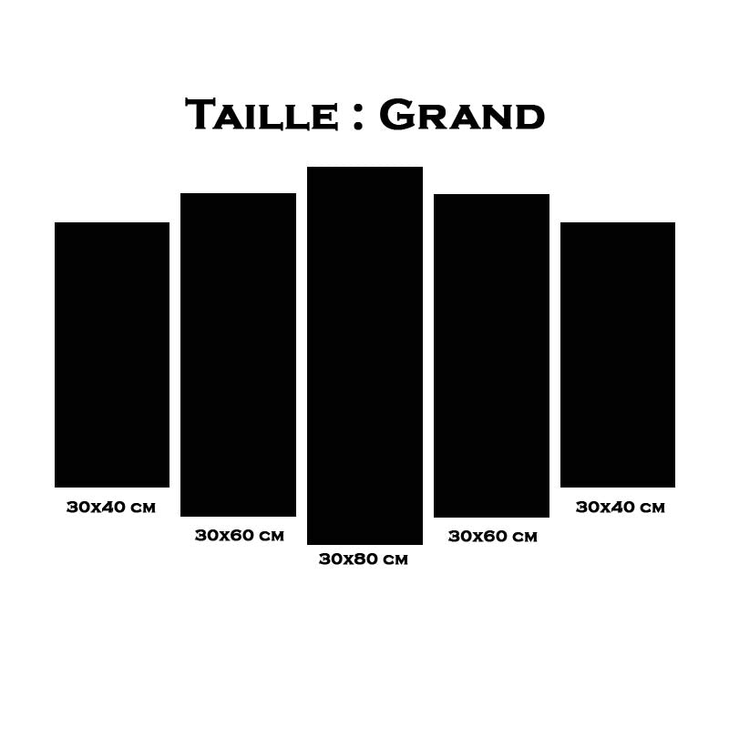 Taille tableau 1 grand