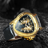 Montre Triangulaire Homme Or | Steampunk-Universe