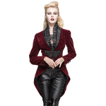 Veste Steampunk Femme <br> Queue De Pie Gothique