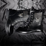 Chaussures Steampunk Homme<br> Black Combat