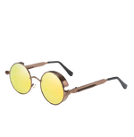 Lunettes Steampunk <br> Gold and Brown
