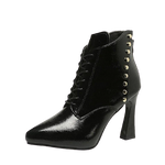 Bottines Victoriennes Cuir