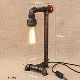 Mesure Lampe De Chevet Type Industrielle