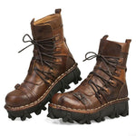 Steampunk Motorcycle Boots | Steampunk-Universe