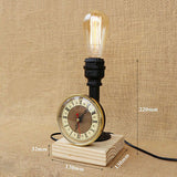 Mesure Steampunk Industrial Lampe