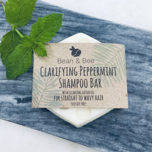 Clarifying Peppermint Shampoo Bar