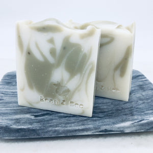 Repurposed Waste Hand & Body Soap, Peppermint & Eucalyptus