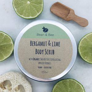 Lime & Bergamot Body Scrub