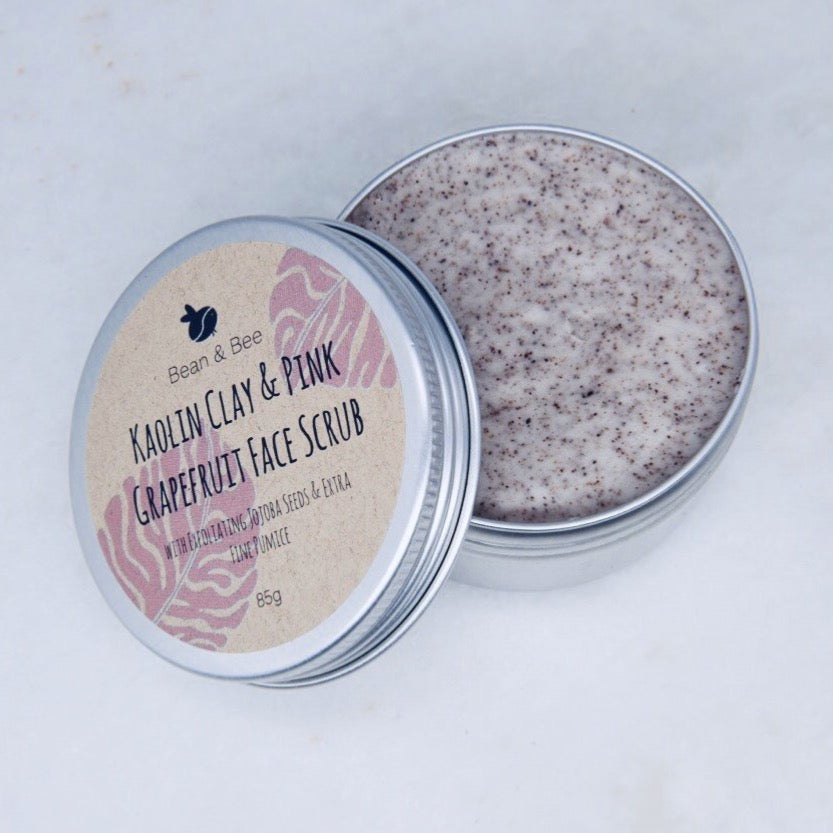 Kaolin Clay and Pink Grapefruit Face Scrub