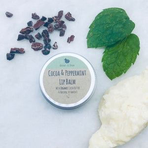 Cocoa & Peppermint Lipbalm