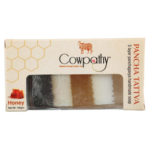 Cowpathy Pancha Tattva Honey Soap