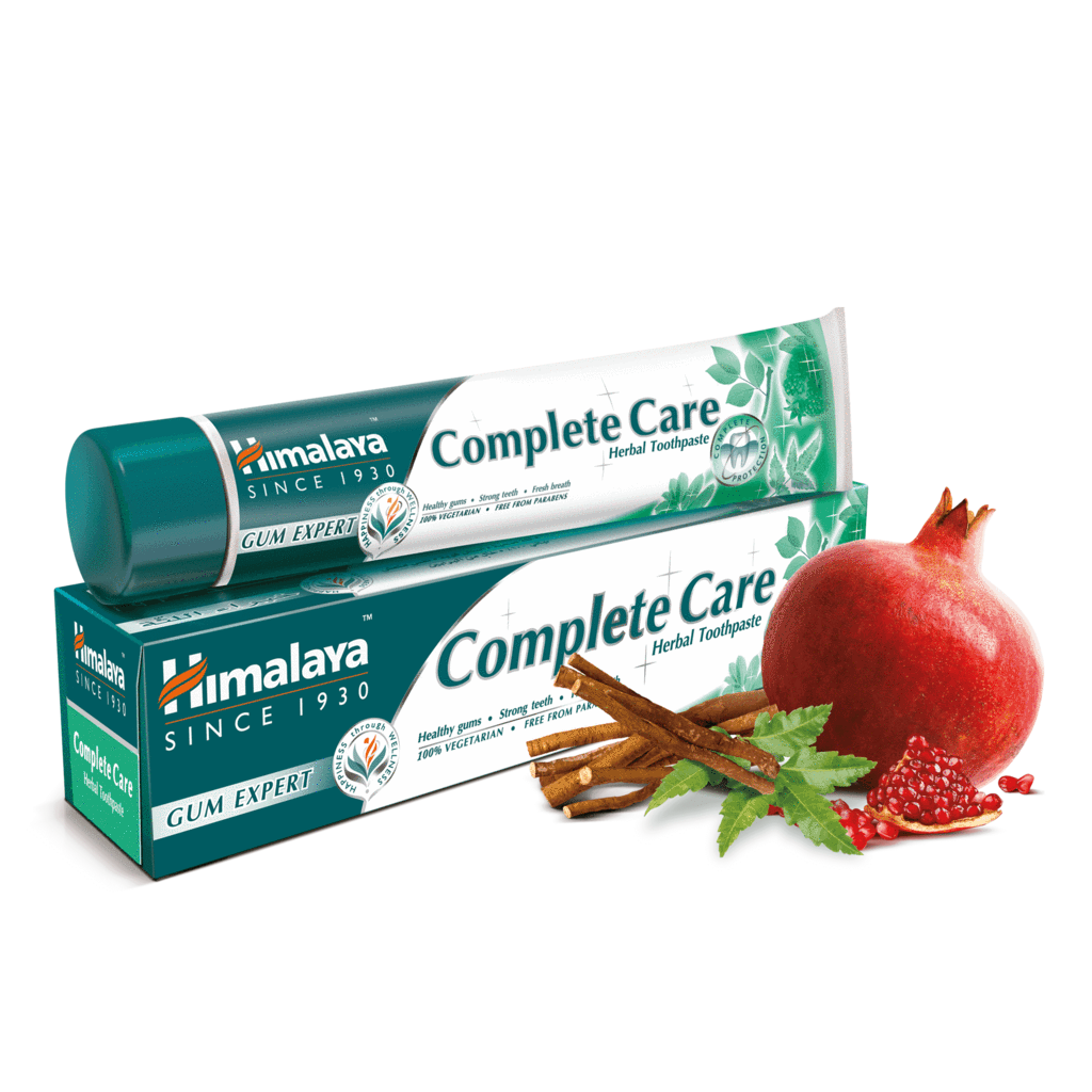 Herbal Toothpaste Vegetarian Himalaya Complete Care