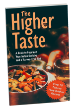 The Higher Taste by Disciples of by A.C. Bhaktivedanta Swami Prabhupada
