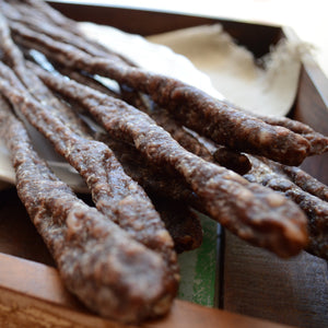 Droewors at its best. Perfectly seasoned and carefully dried.