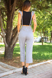 Women's Strappy Striped Pants