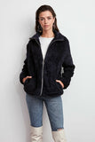 Women's Indigo Fur Coat