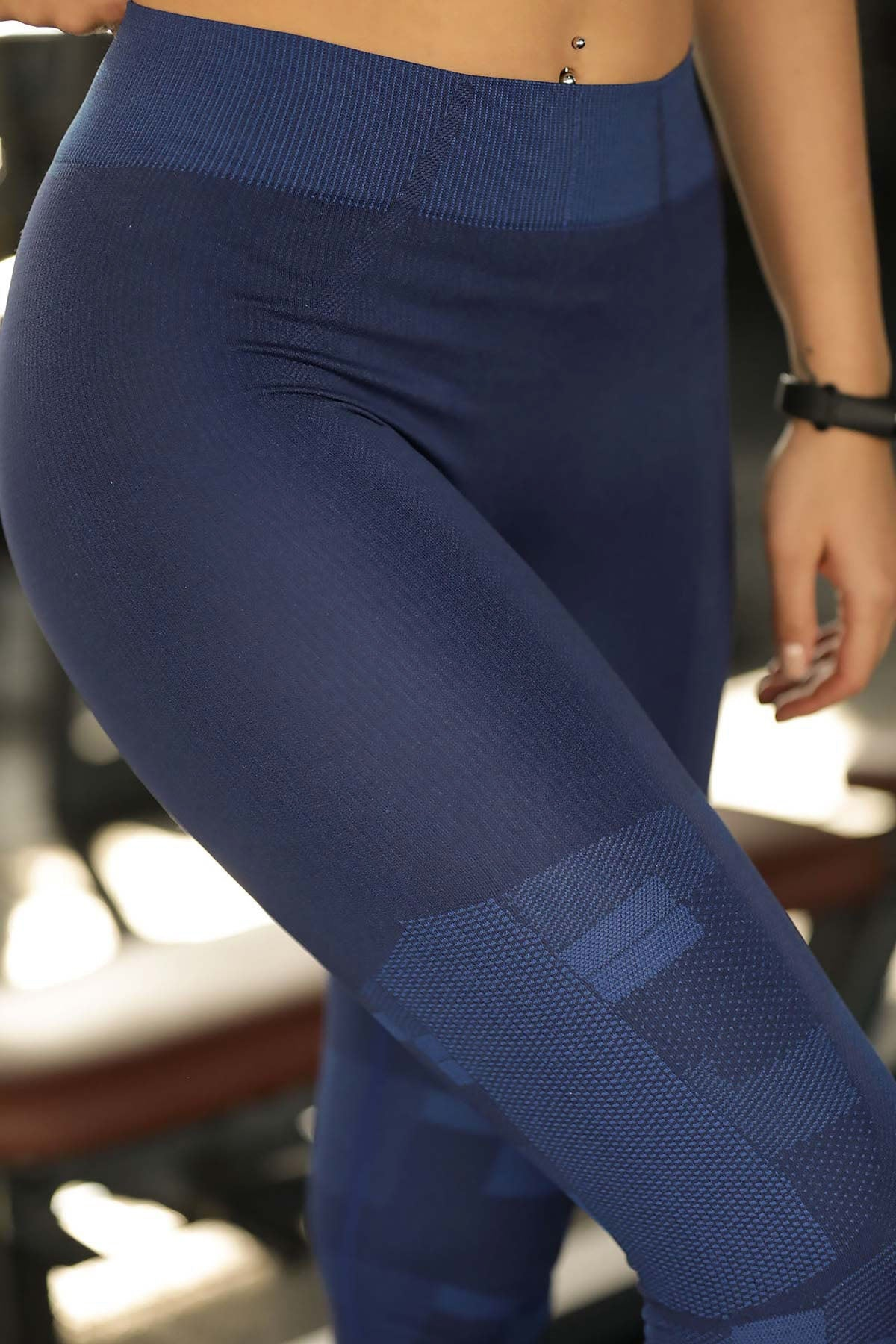 Women's Navy Blue Tights