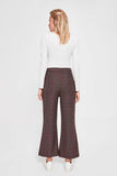 Women's Wide Legs Anthracite Pants
