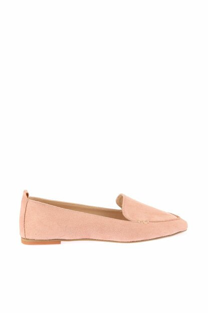 Women's Powder Rose Suede Babette