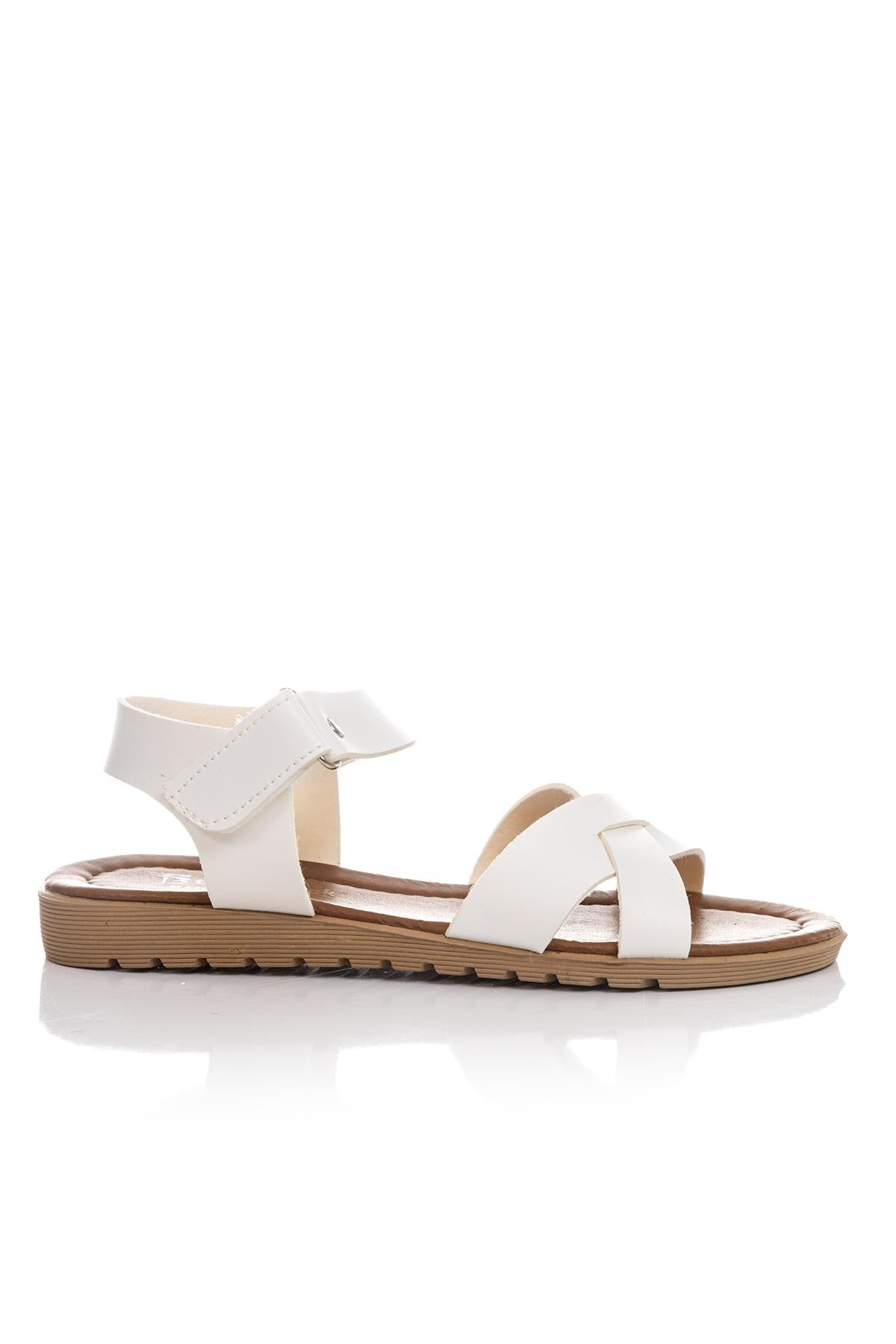 Women's White Casual Sandals