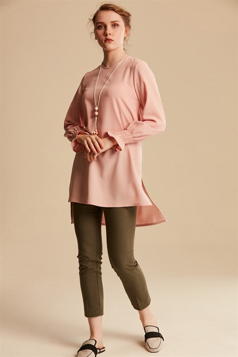 Women's Necklace Accessory Powder Rose Tunic