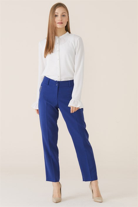 Women's Basic Saxe Pants