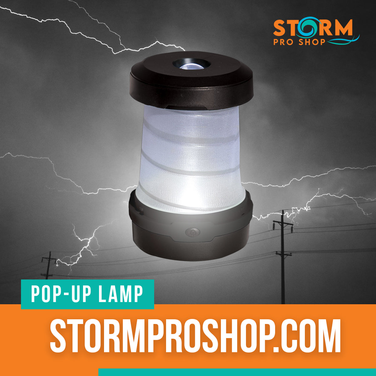 Storm Pro Pop-Up Solar Lantern And Charger